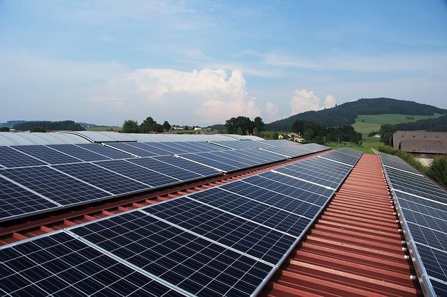 słoneczne panele